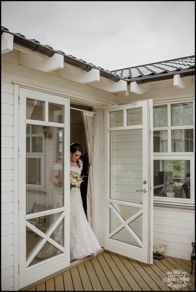 Iceland Wedding First Look at Hotel Grimsborgir