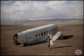 Iceland Wedding Photos Crashed Airplane-2