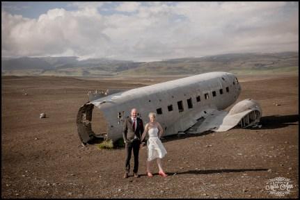Iceland Wedding Photos Crashed Airplane-5