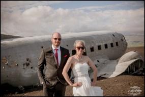 Iceland Wedding Photos Crashed Airplane-9