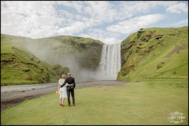 Skogafoss Waterfall Iceland Wedding Photographer