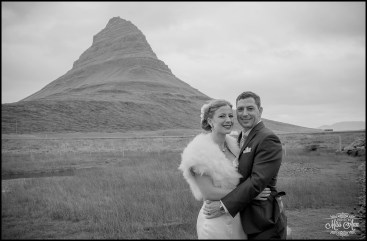 Iceland Wedding Kirkjufellsfoss Mountain