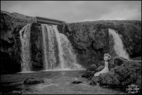 Kirkjufellsfoss Iceland Wedding Photographer
