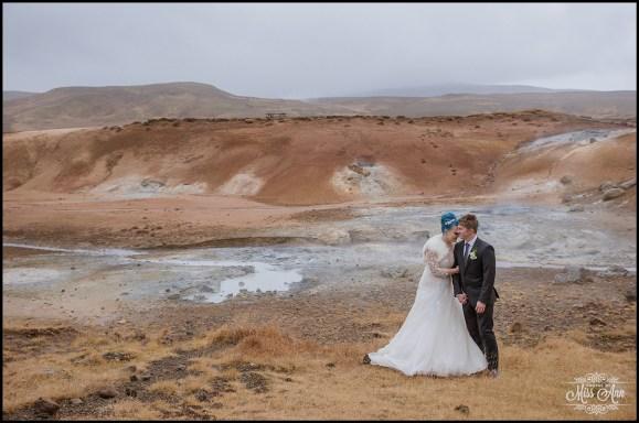 Krysuvik-Seltun Iceland Wedding-1