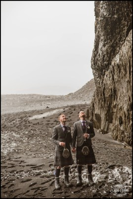 Reynisfjara Beach Wedding Iceland