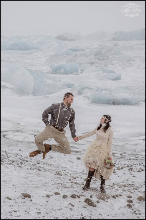 Iceland Post Wedding Session