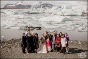 Jokulsarlon Glacier Lagoon Wedding - 3
