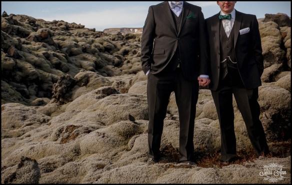 Same Sex Wedding Iceland Photos by Miss Ann