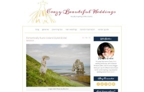 Iceland Wedding Featured on Crazy Beautiful Weddings
