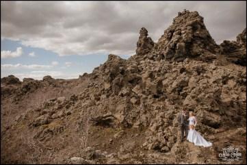 Iceland Wedding Photographer Dimmuborgir Lava Fields