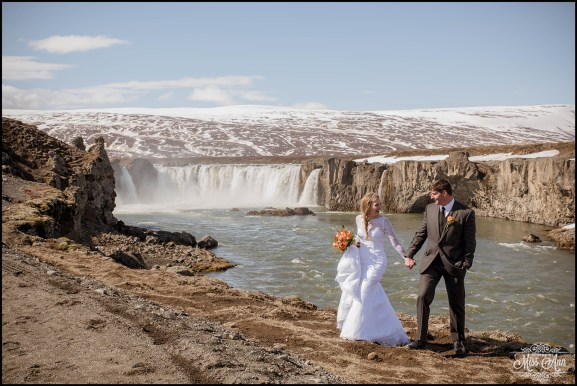 Iceland Wedding Photographer Godafoss Waterfall-13