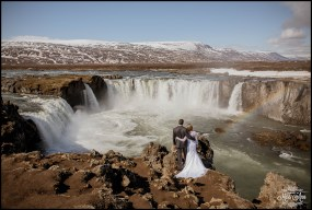 Iceland Wedding Photographer Godafoss Waterfall-2