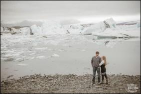 Glacier Lagoon Post Wedding Session Jökulsárlón