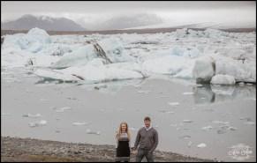 Iceland Engagement Photographer Jökulsárlón Glacier Lagoon