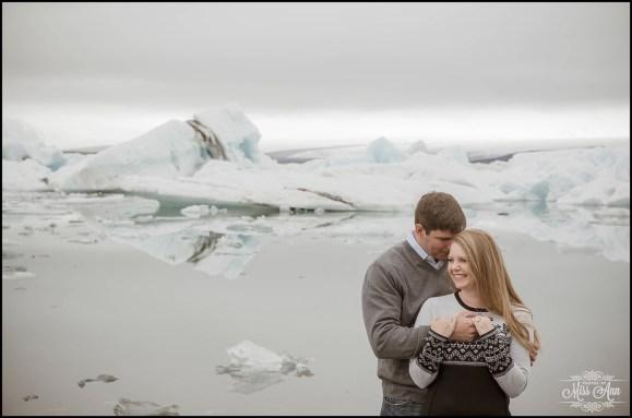 Iceland Pre Wedding Session Jökulsárlón Glacier Lagoon