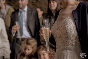 Iceland Wedding Champagne Toast
