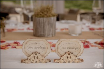 Iceland Wedding Reception Place Cards