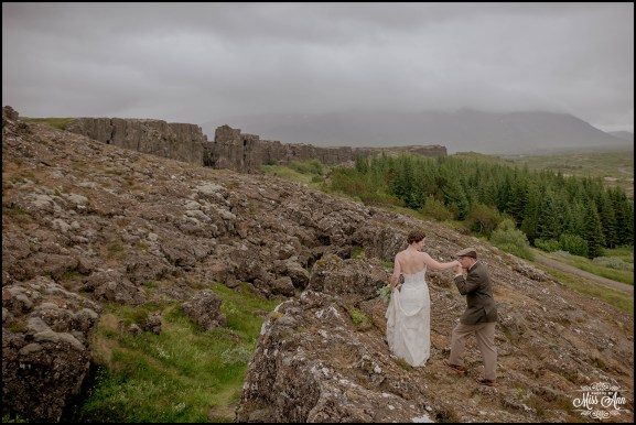 Thingvellir Wedding Iceland-1