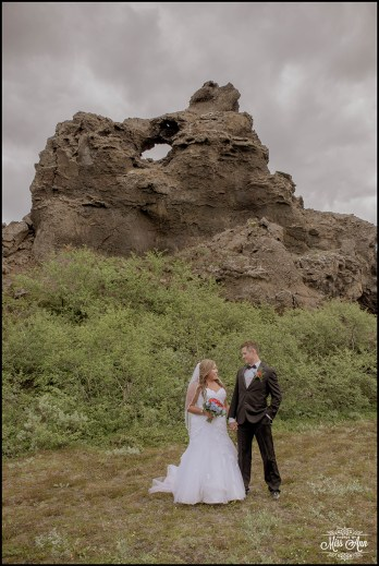 Dimborgir Lava Field Wedding