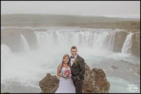Iceland Waterfall Wedding