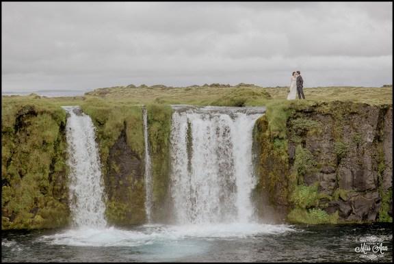 Iceland Waterfall Wedding Photographer-7