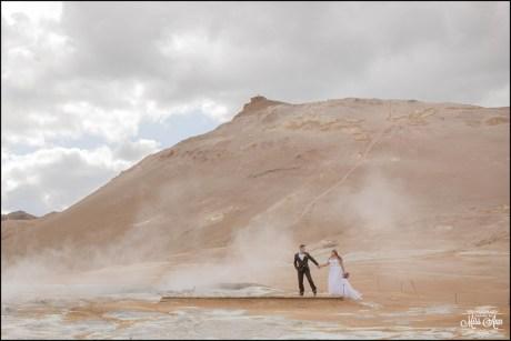 Namaskard Northern Iceland Wedding Photos