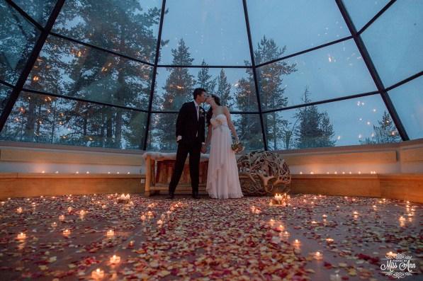 Finland Destination Wedding Igloo Hotel Photos by Miss Ann-25