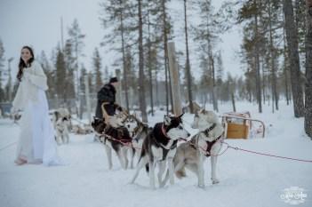 Finland Destination Wedding Igloo Hotel Photos by Miss Ann-48