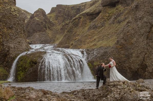 Iceland Waterfall Wedding Location Photographer-1