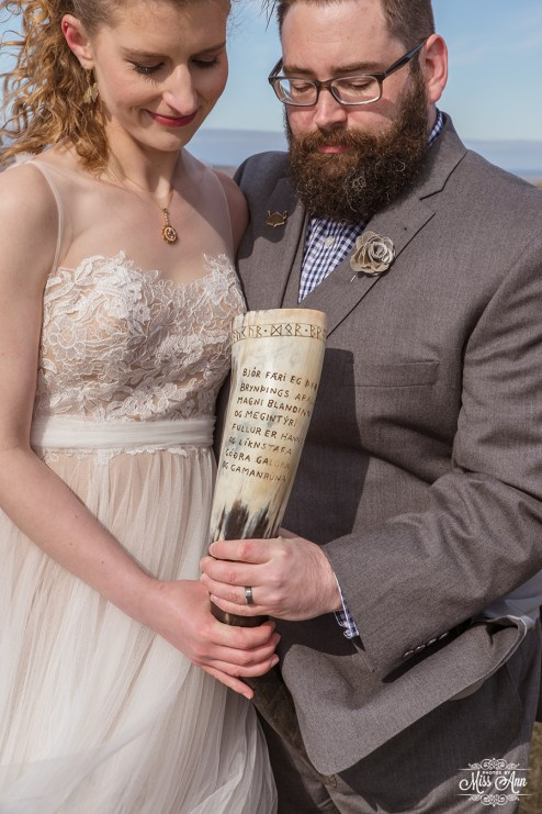 Iceland Wedding Where You Drink from a Horn Asatru