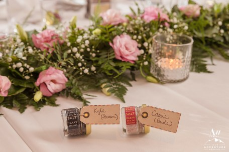 Iceland Wedding Reception - Party Favors