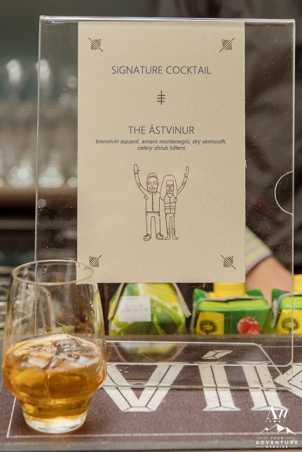 iceland-wedding-reception-signature-drink