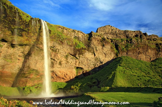 Seljalandsfoss Waterfall Wedding Iceland Weddings and Honeymoon Locations