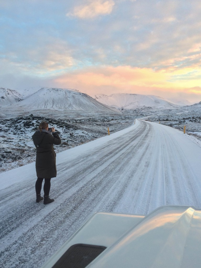 How cold is Iceland?