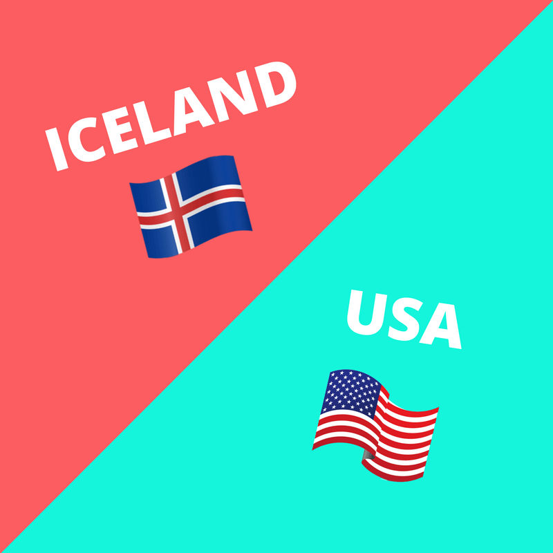 Things that are Different in Iceland from the USA