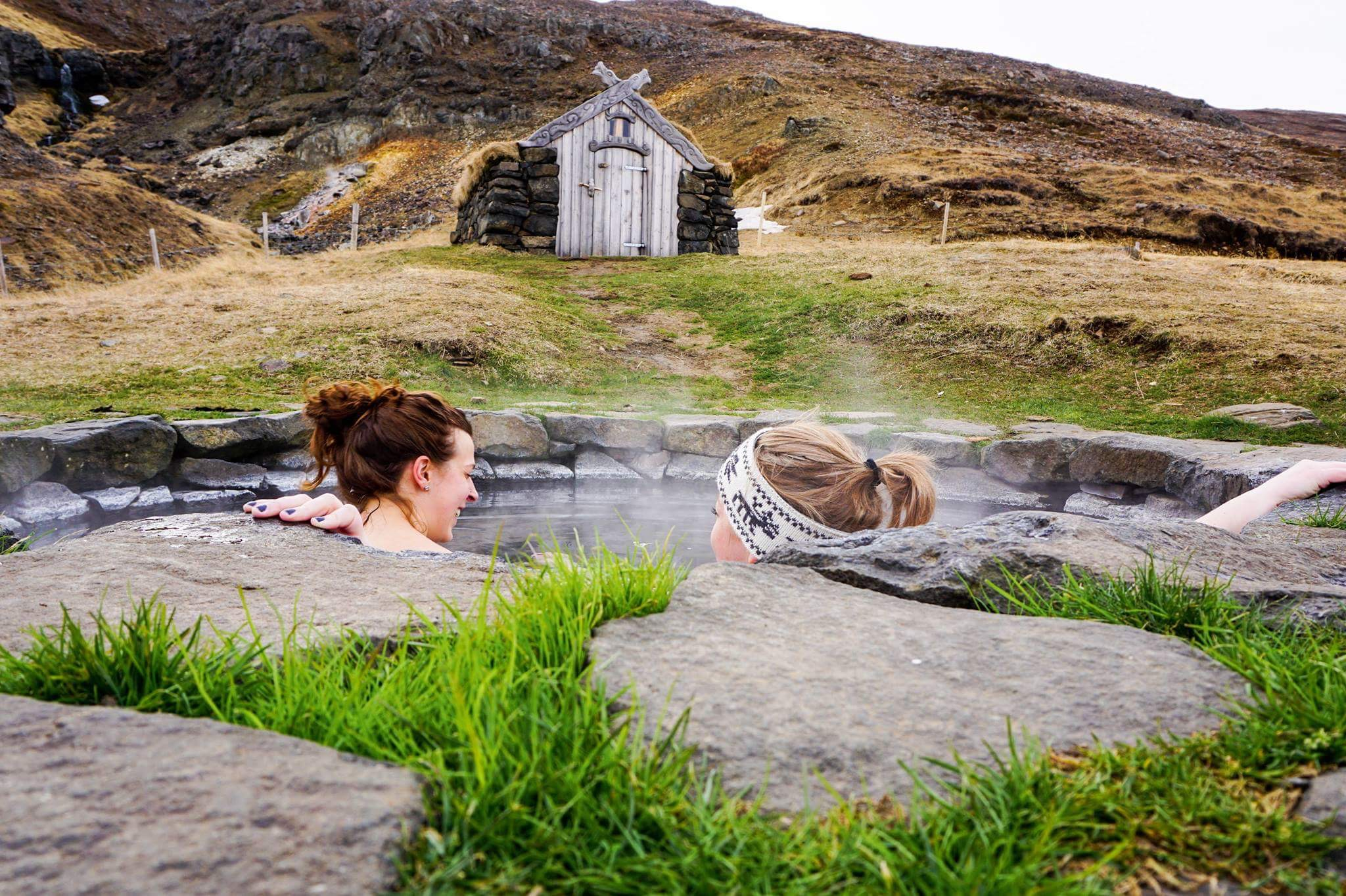 5 FREE Hot Springs in Iceland - Iceland with a View