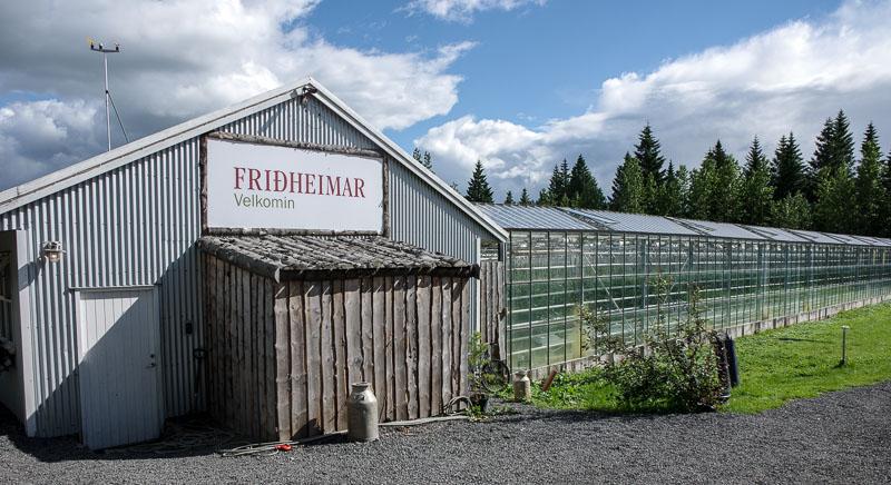 Friðheimar outside