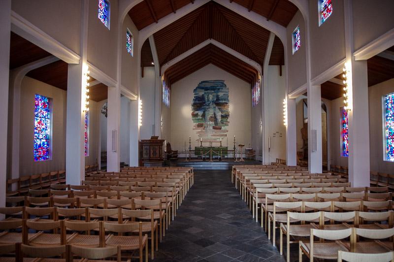 Skálholt church inside