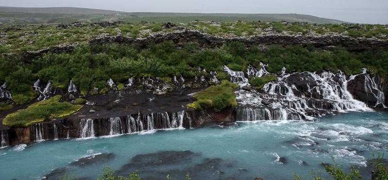 baby barnafoss waterfalls