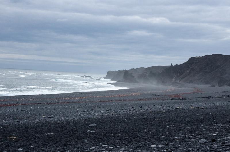 bleck pebble beach ocean sweeping