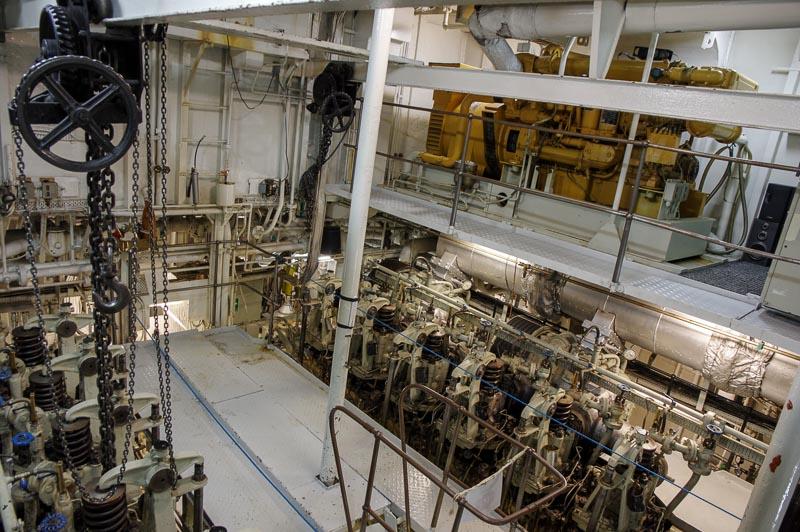 Óðinn engine room