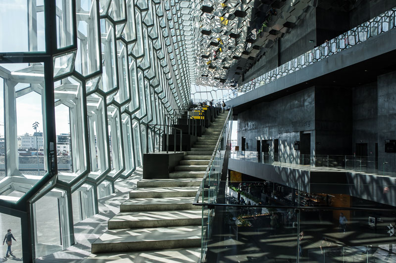harpa sitting places