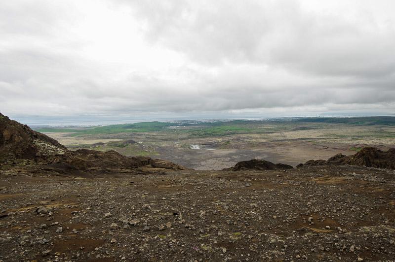 helgafell top view