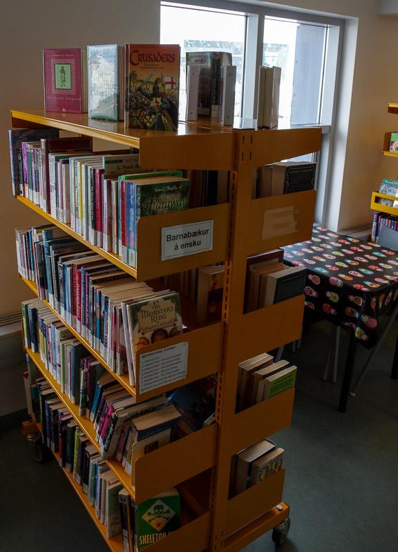 library kids books english