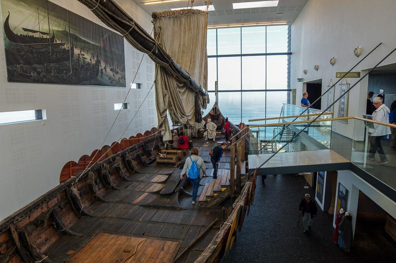 viking world viking ship inside