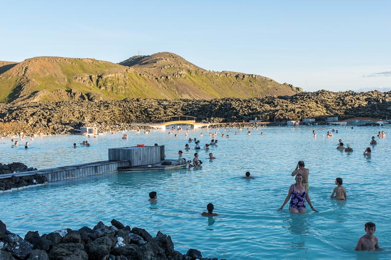 The Blue Lagoon- visiting with kids