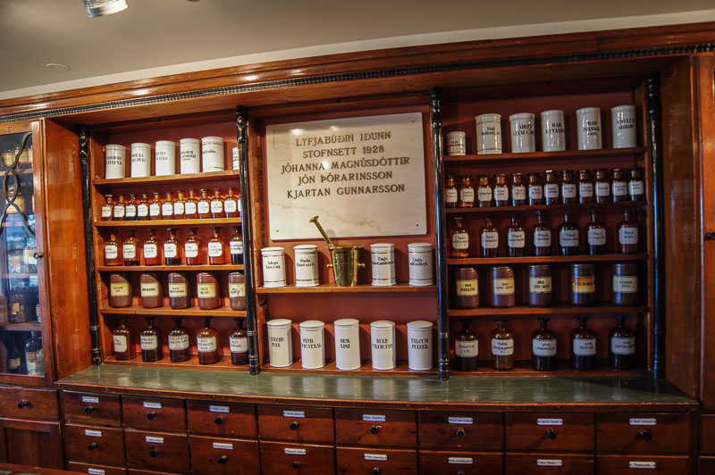 pharmacy museum bottles