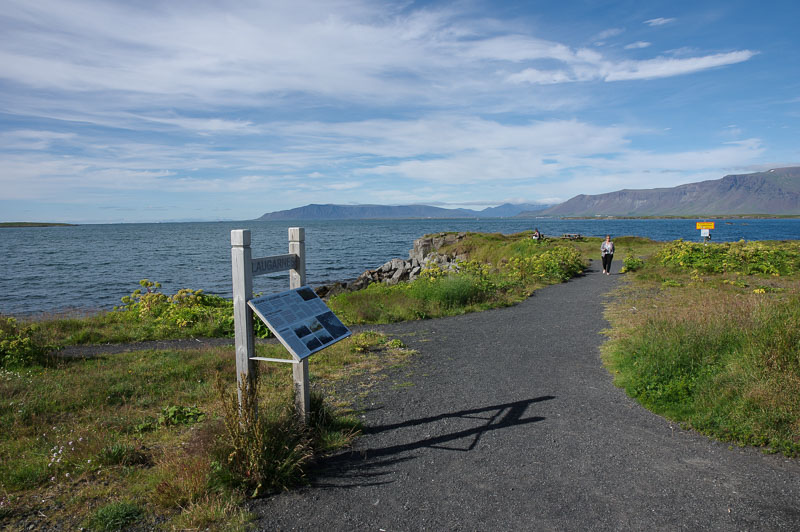 sigurjon laugarnes seashore walk