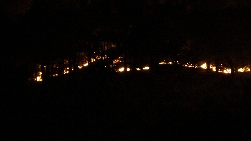 Anamur'da orman yangını devam ediyor
