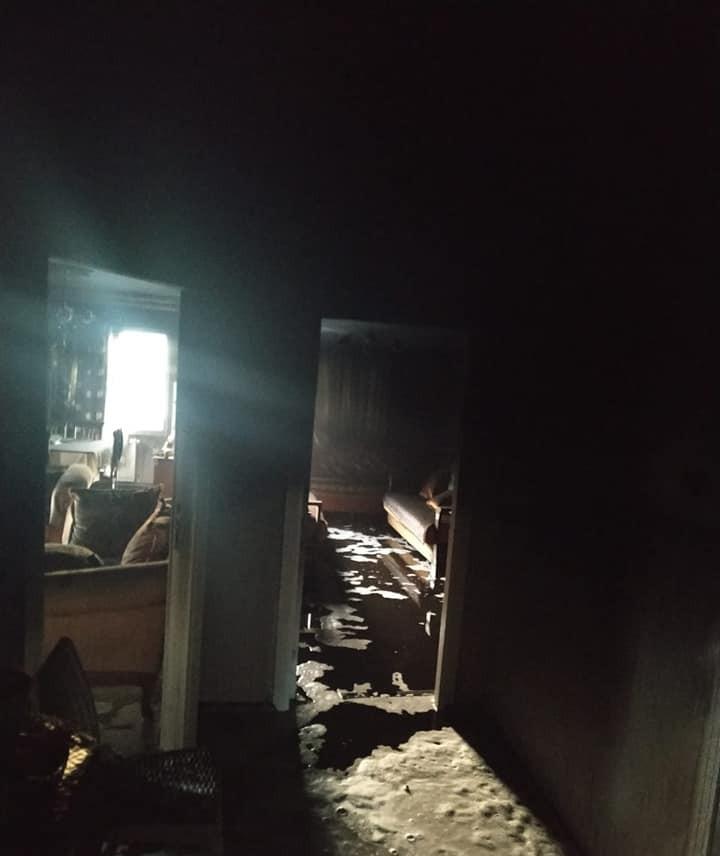 Tarsus'ta 2 ayrı evde çıkan yangın hasara neden oldu